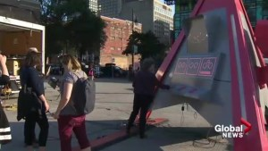 KM3: Montreal's largest outdoor public art event in full swing at the Quartier des Spectacles