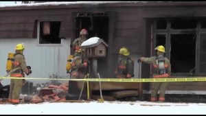 House fire on Lester Drive in City of Kawartha Lakes