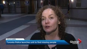 Toronto police missing persons unit releasing details on old cases