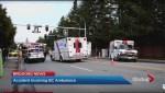Ambulance-involved crash in Richmond