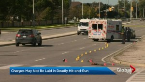 Dump truck driver in Mississauga fatal pedestrian hit-and-run may not be charged: police