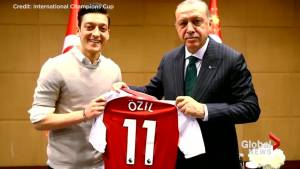 'Racism' drove top German soccer star Mesut Ozil to quit