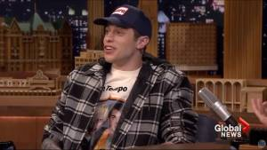 Pete Davidson confirms engagement to Ariana Grande on 'The Tonight Show'