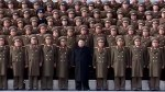 Kim Jong Un inspects troops while visiting the Ministry of the People's Armed Forces