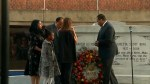Martin Luther King Junior's family lays wreath at tomb, rings bell for his life on 50th anniversary