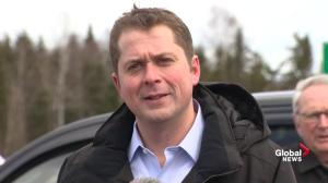 Andrew Scheer defends 'robo-texts' on federal carbon tax