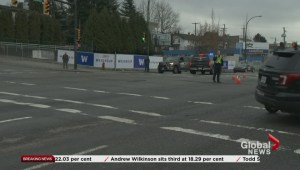 Vancouver bank robbers crash involving a VPD cruiser