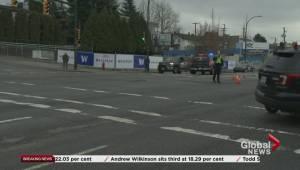 Vancouver bank robbers crash involving a VPD cruiser