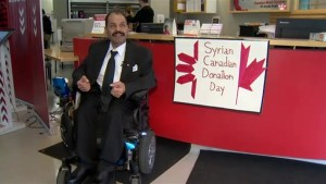 Syrian refugees donate blood in Halifax to convey thankfulness