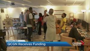 Quebec Anglophone groups get federal funding (02:25)