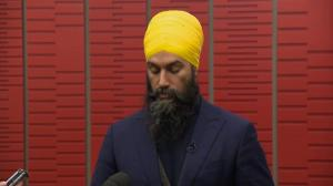 Singh expresses concerns over Trudeau's carbon tax plan