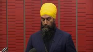 Singh expresses concerns over Trudeau's carbon tax plan