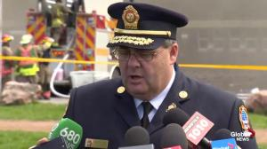 Crews making 'significant progress' on fire at Toronto high school, fire chief says