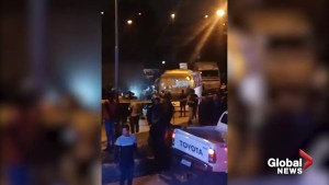 Tourist bus cordoned off as Egypt police investigate deadly roadside bombing
