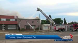 Edmonton apartment destroyed in fire