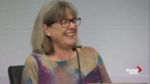 Donna Strickland says 'it never entered her mind' she'd win Nobel prize