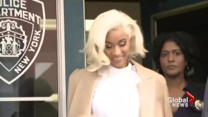 Cardi B turns herself in for questioning regarding fight at New York strip club