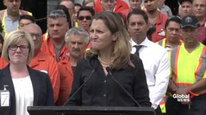 Freeland says Mexico-U.S. NAFTA negotiations is only on bilateral issues