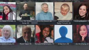 Police release names of Toronto van attack victims