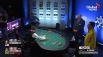 Poker player comes in second after celebrating win prematurely