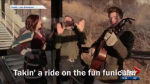 Song singing praises of Edmonton's funicular becomes social media sensation