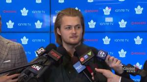 Nylander says Leafs great performance has reduced pressure