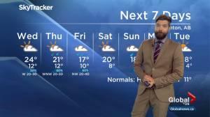 Edmonton Weather Forecast: Aug. 13