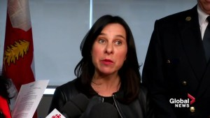 Montreal Mayor Valérie Plante says water levels will rise
