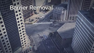 Timeline unclear for removal of Portage and Main barricades
