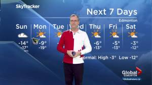 Edmonton Weather Forecast: Feb. 17