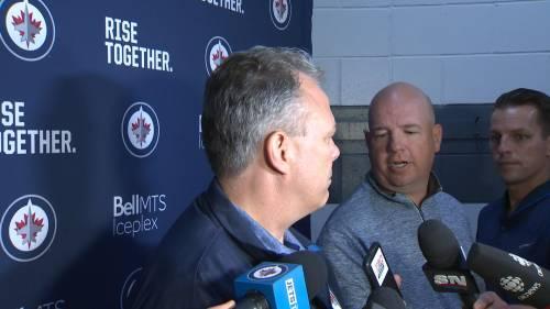 RAW: Winnipeg Jets Kevin Cheveldayoff Interview – June 25