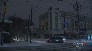 Messy weather conditions cause heap of problems throughout Toronto