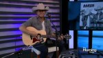 Aaron Pritchett performs his latest single
