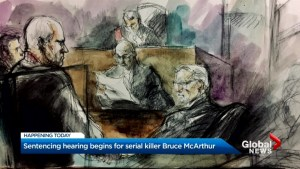 Serial Killer Bruce McArthur sentencing hearing gets underway