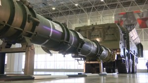 Russia shows missile to disprove U.S. allegation of violating arms treaty