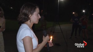 Vigil held for victims of Charlottesville violence
