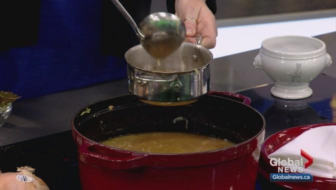 Cooking 101: Parisian four-onion soup