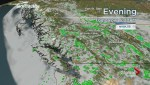 BC Evening Weather Forecast: May 9