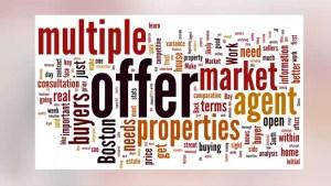 Real Estate guru Matt Lee discusses the scenerio of multiple offers