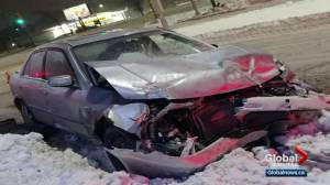 uck driver flees after crashing into pregnant driver's car