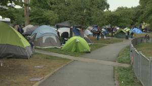 Oppenheimer Park neighbours say tent city situation worsening