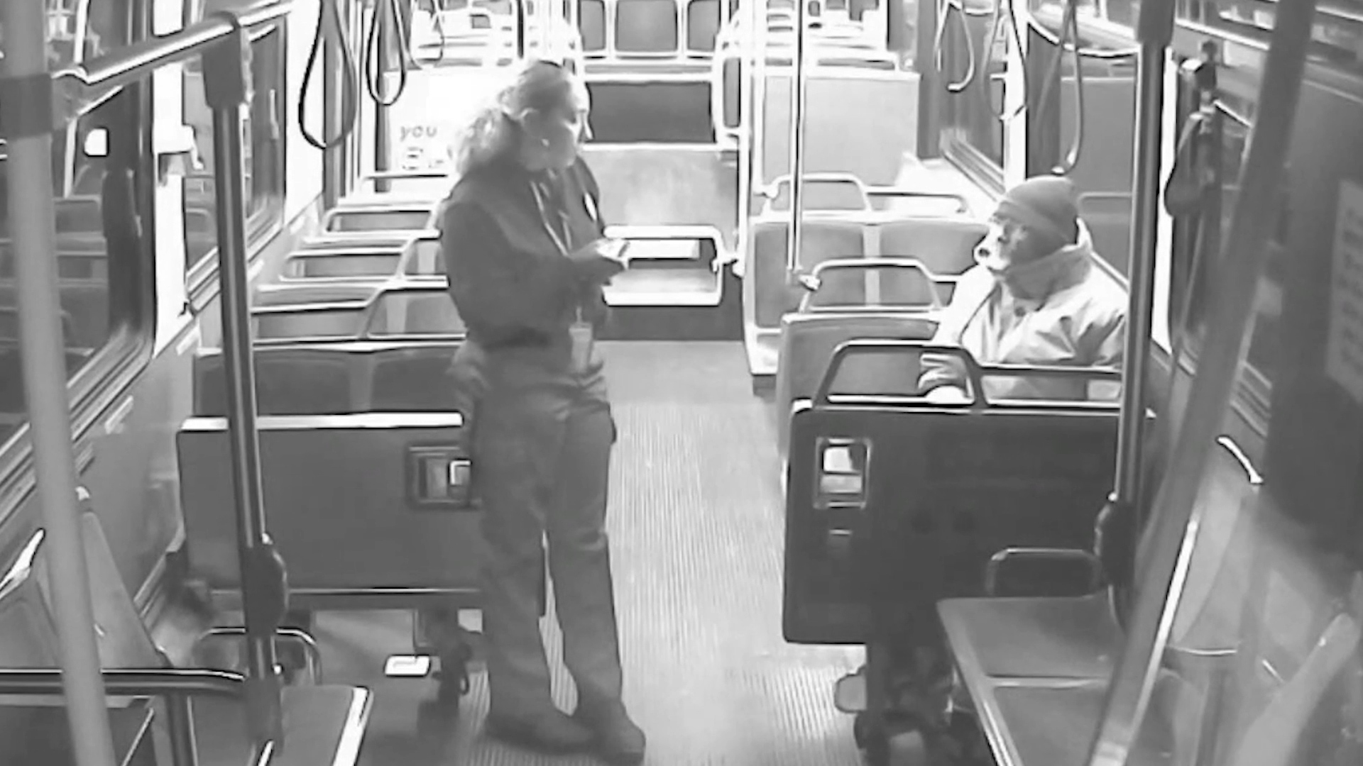 Milwaukee bus driver rescues toddler wandering in the cold