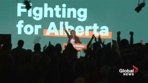 Alberta's Rachel Notley officially announces candidacy in campaign-style speech at NDP convention