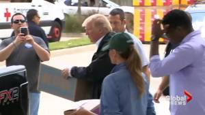 President Trump departs Hurricane Harvey disaster zone, but problems remain