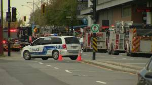 Gas leak near Bell Centre leads to road closures and power outages