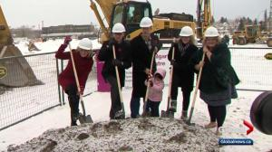 Province breaks ground on new Calgary cancer centre