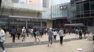 Raptors fans rush to get OVO championship apparel