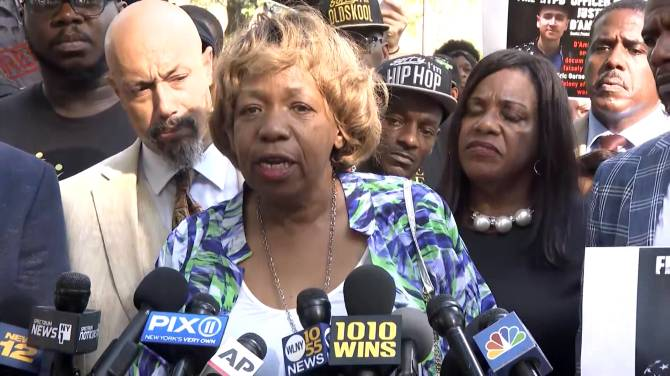 NYPD fires officer involved in Eric Garner's 2014 chokehold