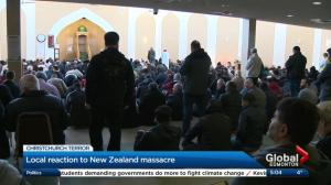 Edmonton mosque packed for Friday prayers after Christchurch attacks