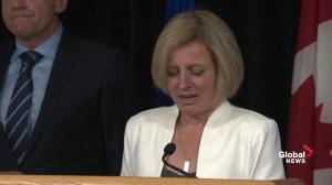 Rachel Notley updates wildfires burning in Alberta